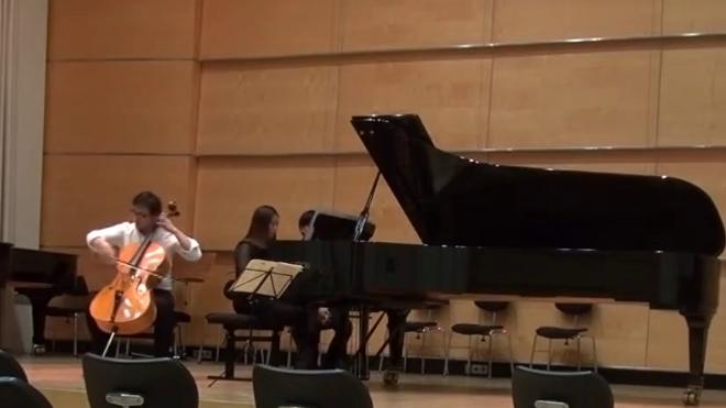 谢添 -Rostropovich Humoresque 罗斯特洛波维奇 幽默曲 为大提琴与钢琴而作