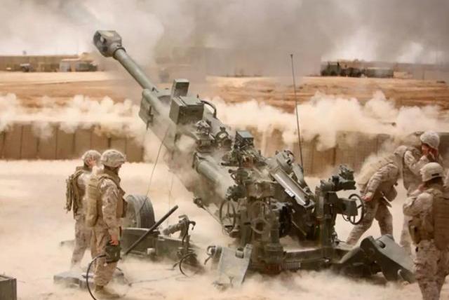 印度无故撕毁停火协议,美制重炮首次开火,巴哨所倒悬国旗求援