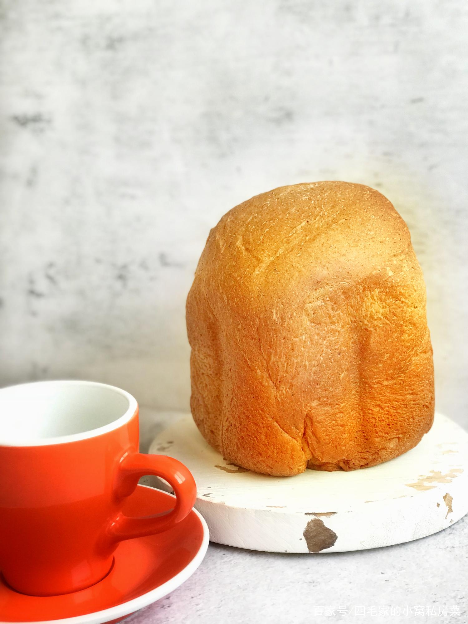 面包机做面包100%一次成功,原来做松软好吃的面包可以这么简单!