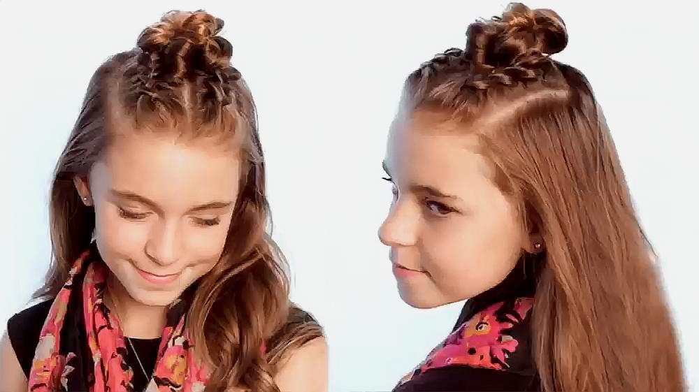 腾讯短发方法扎马尾辫头发的作文动物扎简单好看学生漂亮的小描写视频小学生学生图片