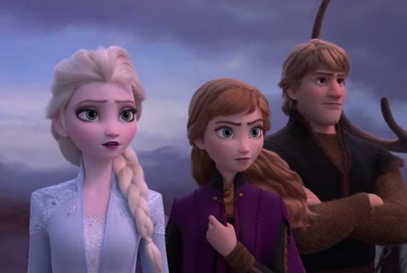 终于等到《冰雪奇缘2》预告,安娜新造型美翻,艾莎的魔力变弱?