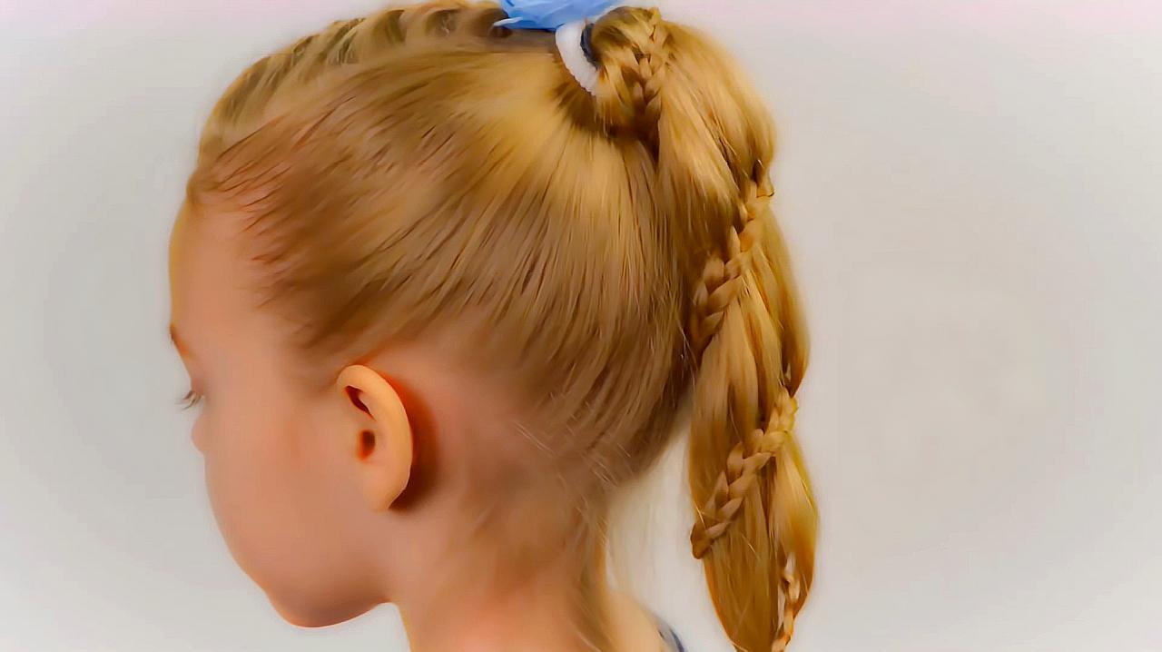 小女孩发型图片