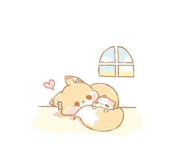 可爱的卡通小动物,个个萌萌的,很适合做表情包