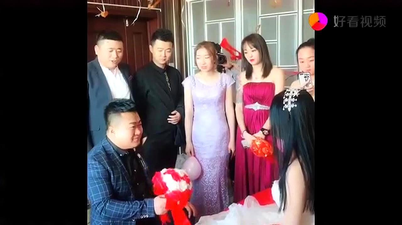 小姨子今天结婚,没想到新郎却是这么个逗逼,希望她以后会幸福!