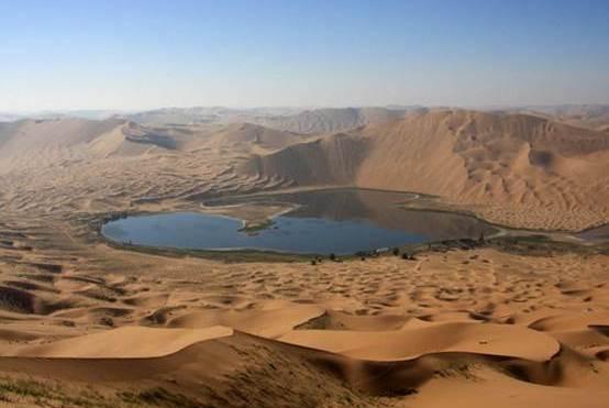 """中国""""击败""""的一个沙漠,80%变绿洲,还整出160万亩农田"""
