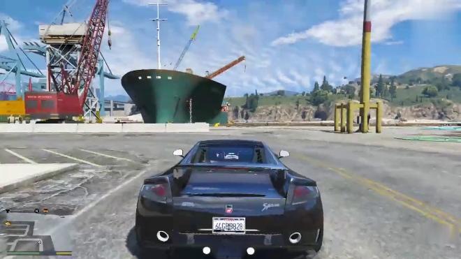 GTA5这是一辆神跑车,它的名字叫GTA!