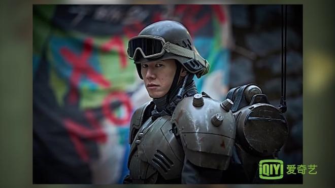 电影《人狼》造型公开 姜栋元郑雨盛穿装甲服超帅