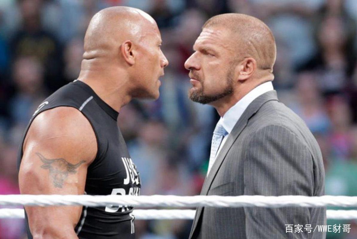 巨石强森彻底离开WWE竟是因为他?盘点与强森关系不和的摔角明星