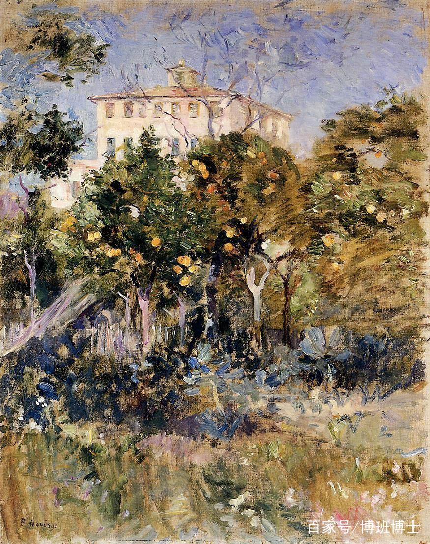 法国著名印象派女画家 贝尔特·莫里索 油画作品集