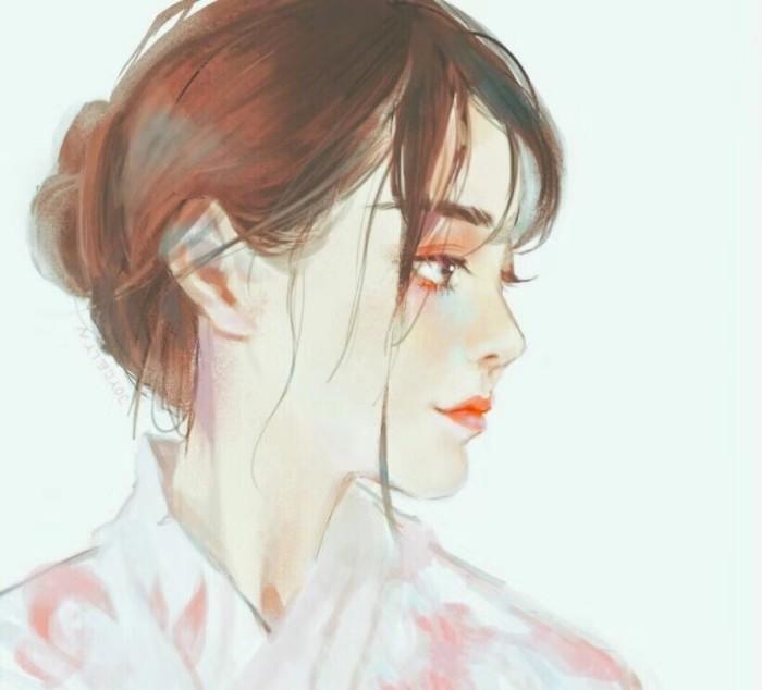 超美二次元动漫女生头像,有些相遇就是场误会,失去就