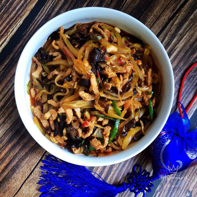 鱼香肉丝的家常做法,美味下饭,简单易学