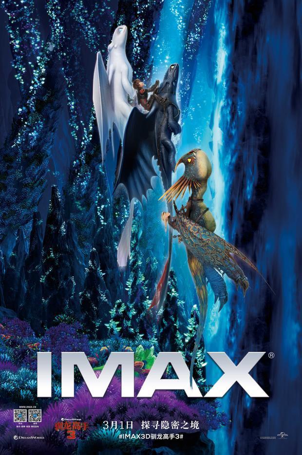 《驯龙高手3》imax体验获赞如临其境