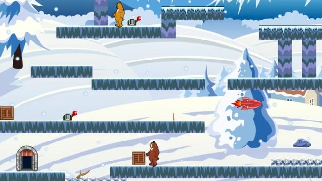 熊出没之探险日记 雪地大冒险 这里每一步都是坑 游戏