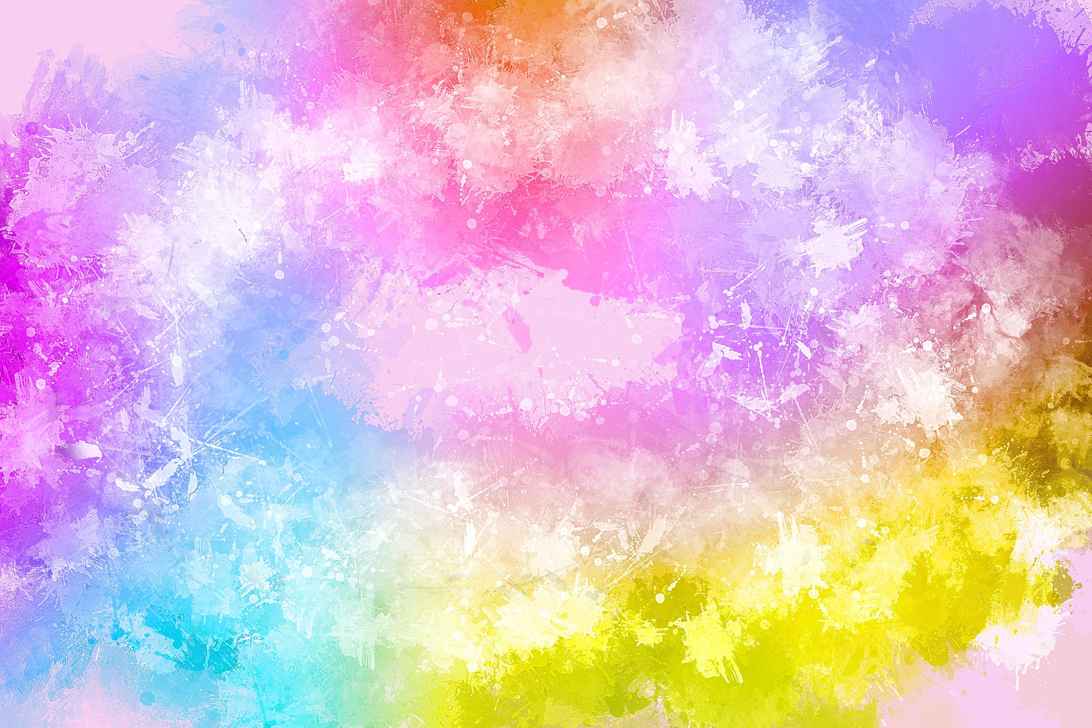 油彩抽象高清壁纸ps素材