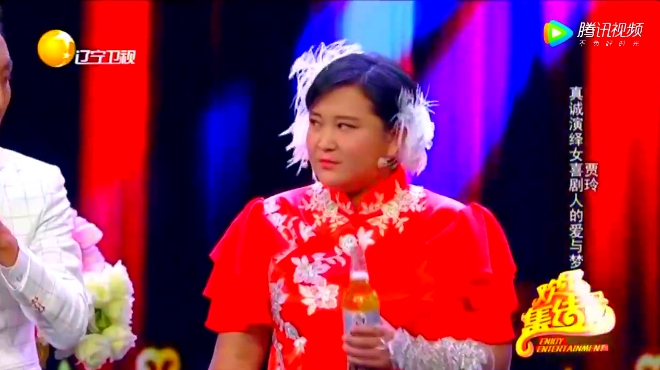 贾玲 朱杰表演小品《喜剧啊喜剧》