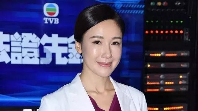 TVB花旦在《法证先锋4》演法医有福利?连拍5晚通宵戏依然精神