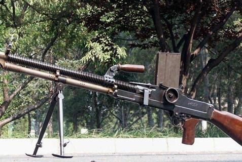 侵华日军也曾仿制捷克式机枪?只是借鉴了外观