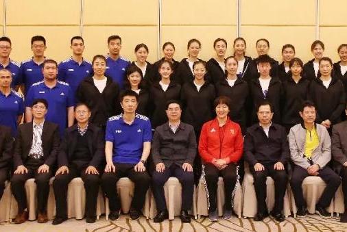 中国女排漳州集训:这名运动员刚来报到没几天,就离开了