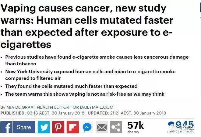 电子烟监管:国家卫健委最新通告