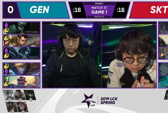 Gen爆冷击败SKT后,连直播间都变黑屏了?网友:Faker失误太大了