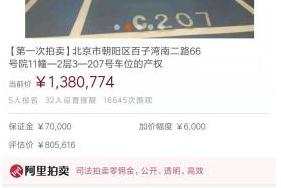 全国最昂贵的车位:一出手就是138万,好比是3线城市两套房