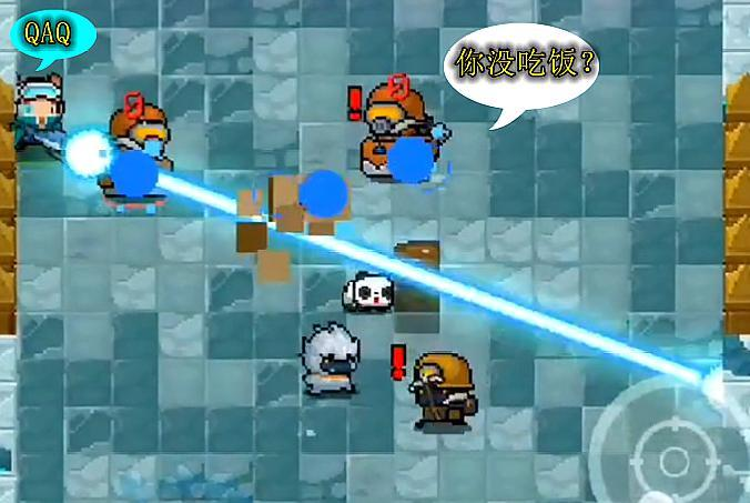 元气骑士:若激光鱼遇到这两个挑战BUFF,打怪0伤连登山杖都不如