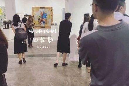 51岁杨澜现身艺术展,笑容灿烂依然优雅,短发黑裙背影似少女