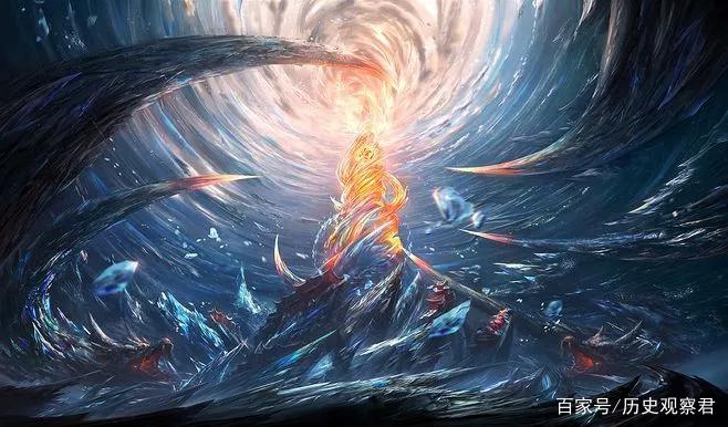 无始钟与无始大帝一样,没有开始,没有结束,永生不灭,涅盘再生.