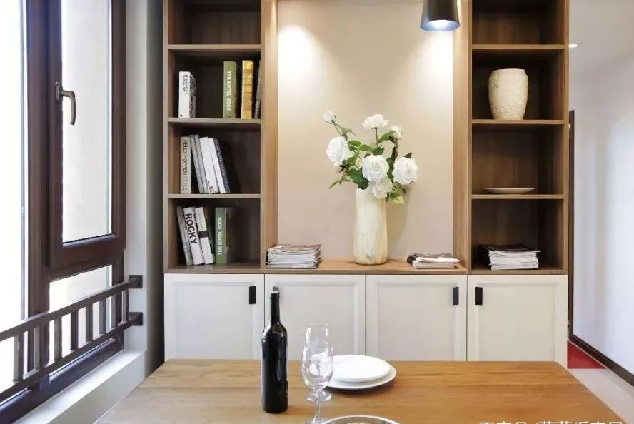 黑+白的温暖感,这家三室两厅美到飞起!