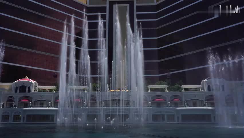 澳门永利皇宫喷泉-龙的传人