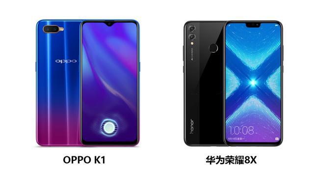 OPPO K1与华为荣耀8X,揭秘为何选择OPPO K