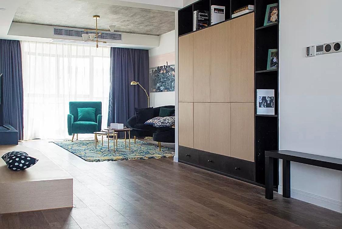 这样的电视柜,才是客厅的颜值担当,还能当沙发用!
