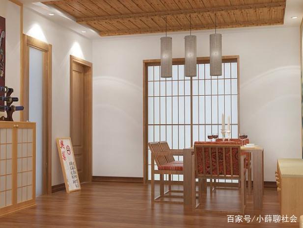 一组日式装修风格效果图,你喜欢这样的家吗?