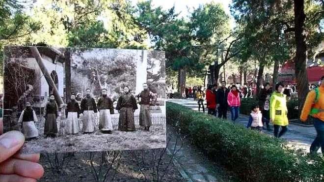一位日本人拿着几张老照片,去故宫对比,看得他瞬间毛骨悚然!