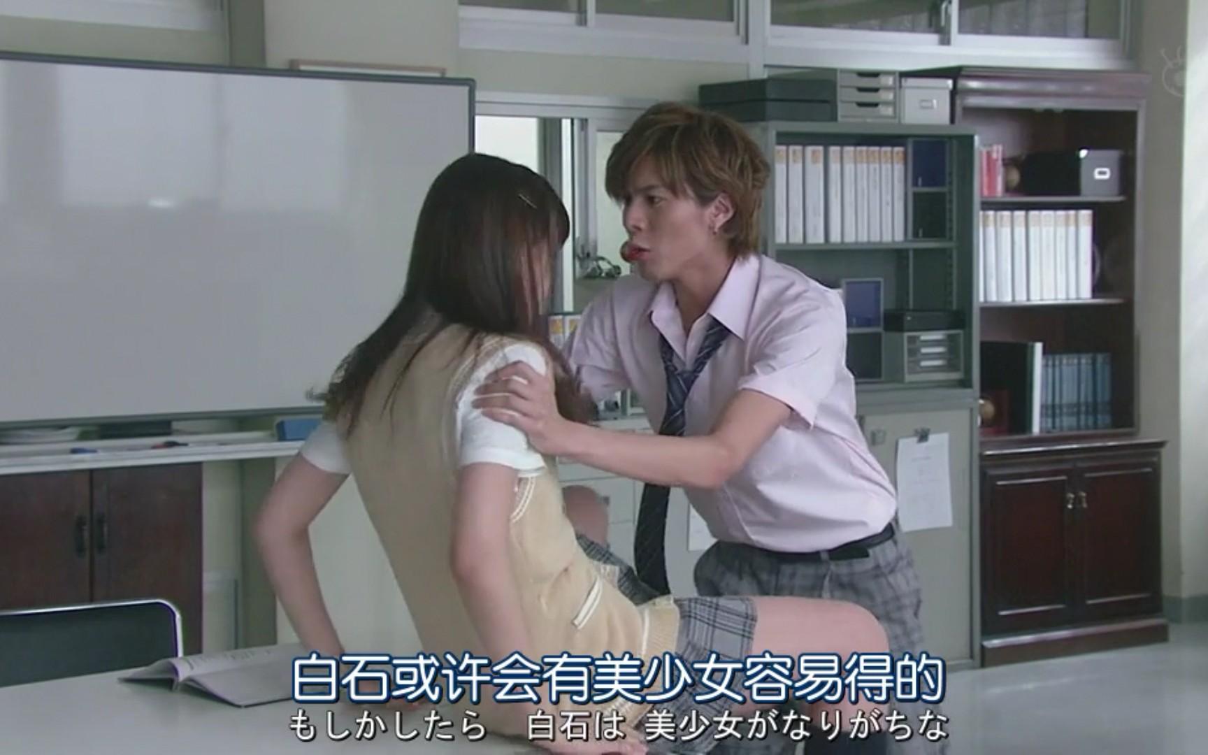 日本气色向吻戏,既欲又逗