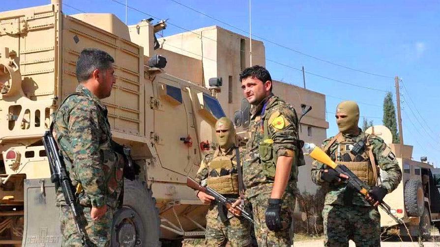 俄军进驻曼比季,库尔德武装愿意编入叙军,美数十亿援助或打水漂