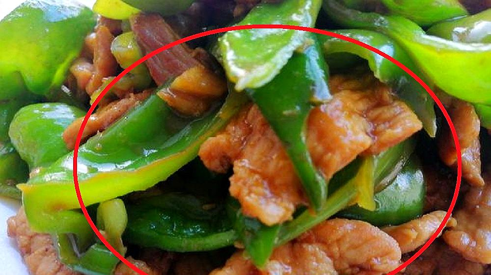 辣椒炒肉,先下锅炒肉还是先炒青椒?都错了!原来大厨都是这么做