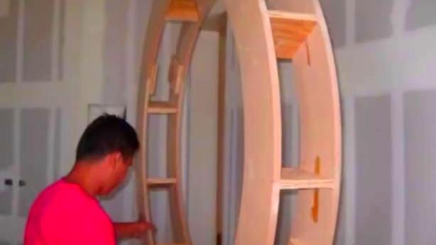 圆形木工吊顶