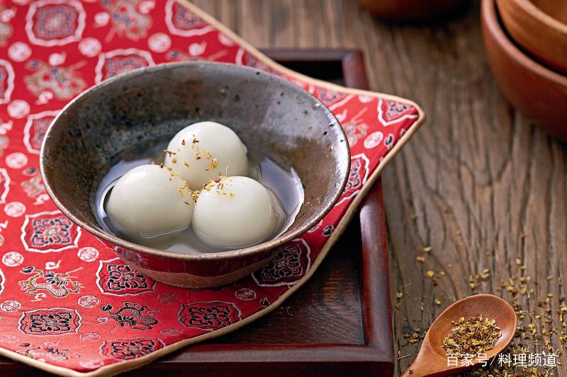 黑芝麻汤圆,在家就v汤圆的美食!四川的猪肉能不能带出四川图片