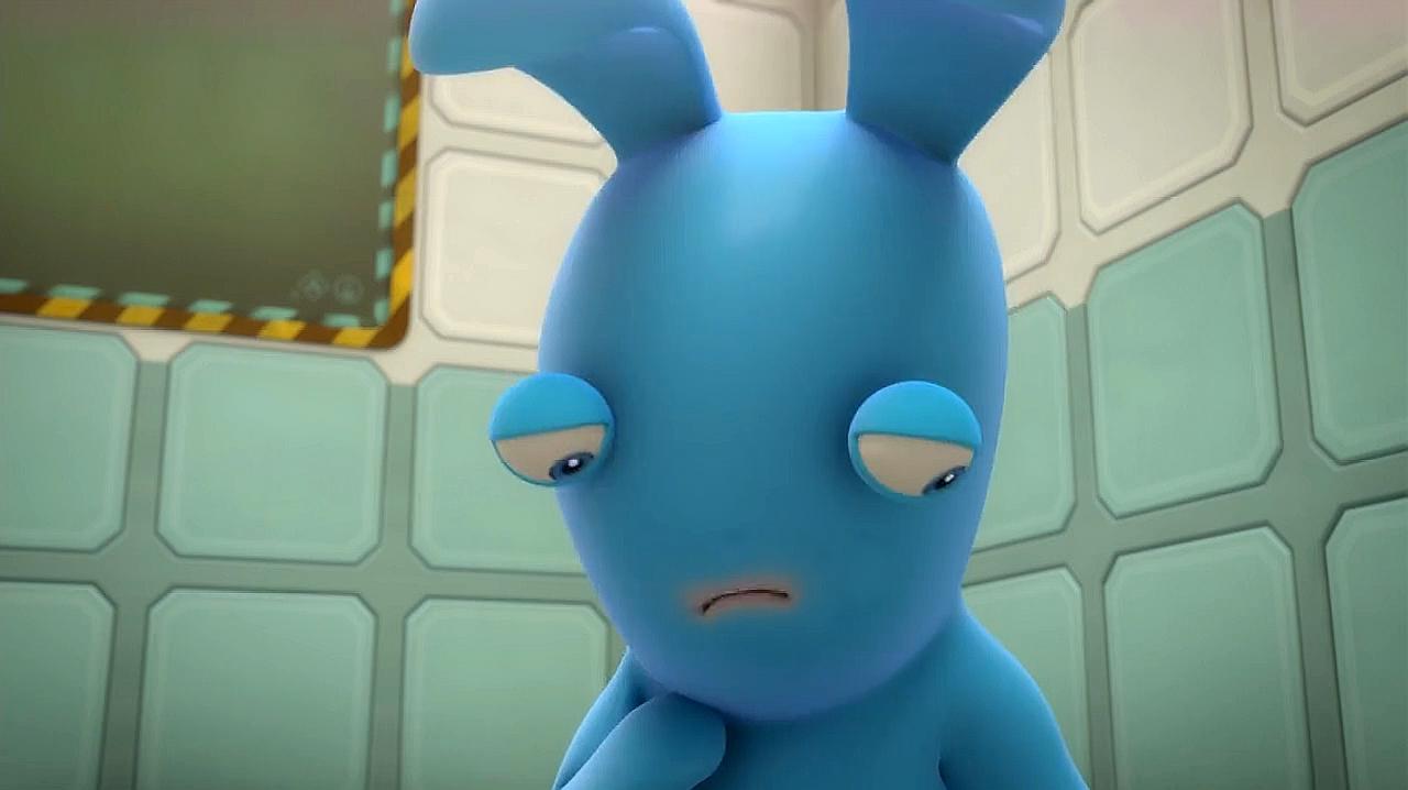 疯狂的兔子:兔子受到排挤,结果伤心难过哭起来
