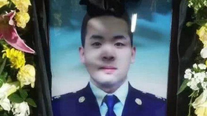 宝鸡消防烈士张向博,危险时刻为救战友不幸牺牲,年仅22岁!