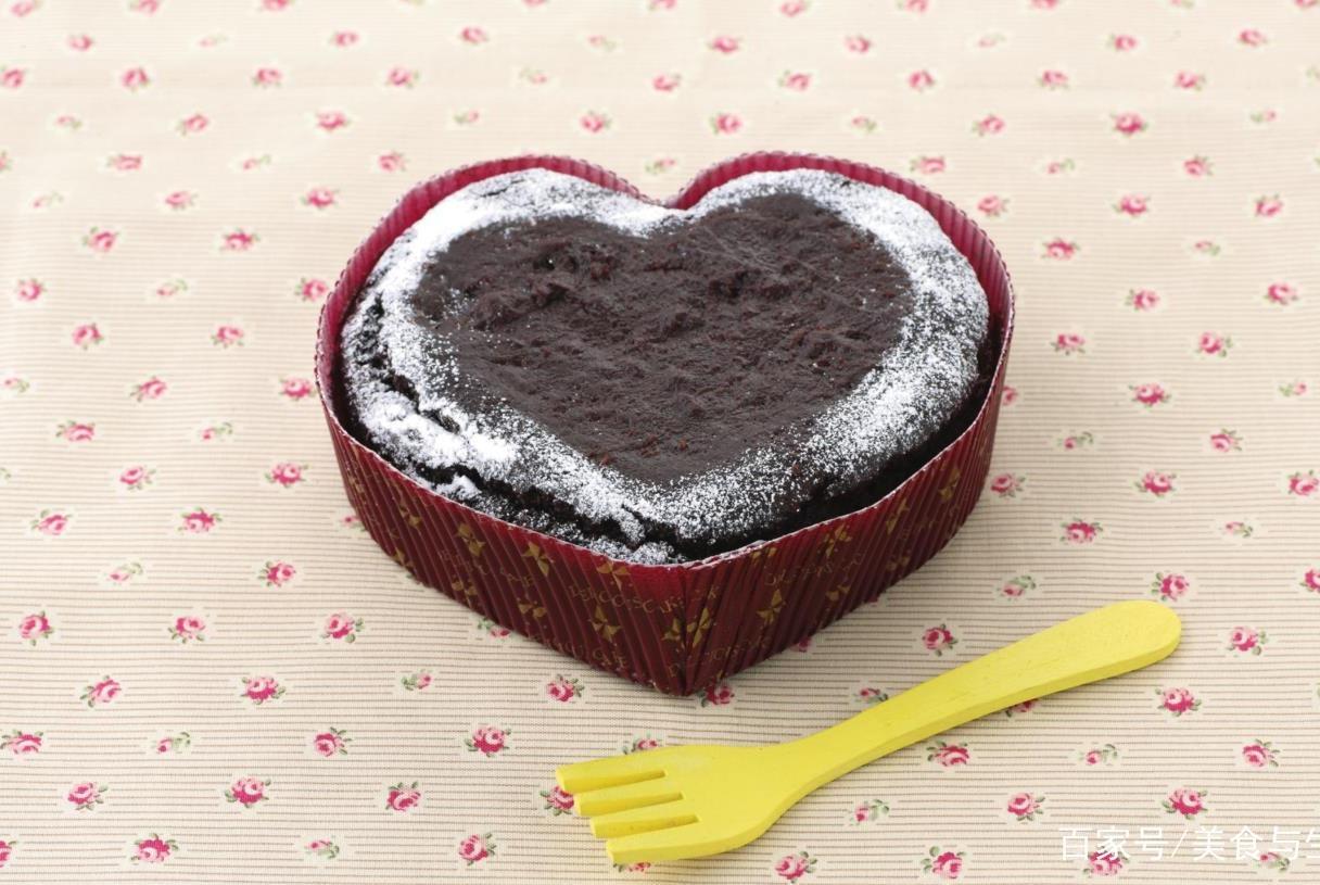 懒人也能做的超浓郁巧克力蛋糕,简单美味,看看就好有食欲啊