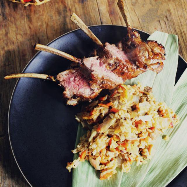 羊肉手抓饭,做法简单又美味,刚出锅就被抢空!图片