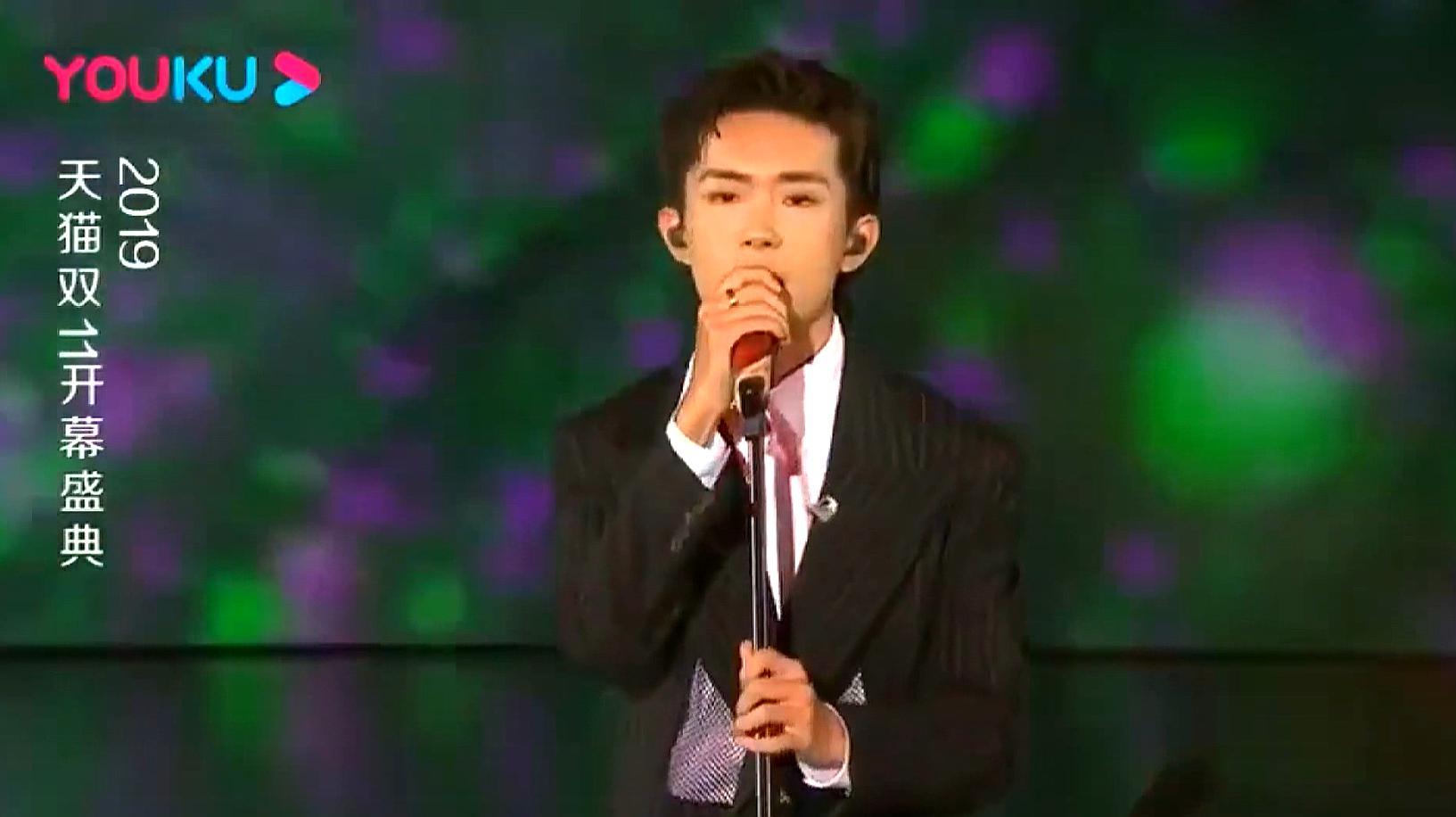 天猫双11开幕盛典:易烊千玺开场献唱,一开口好听到爆!