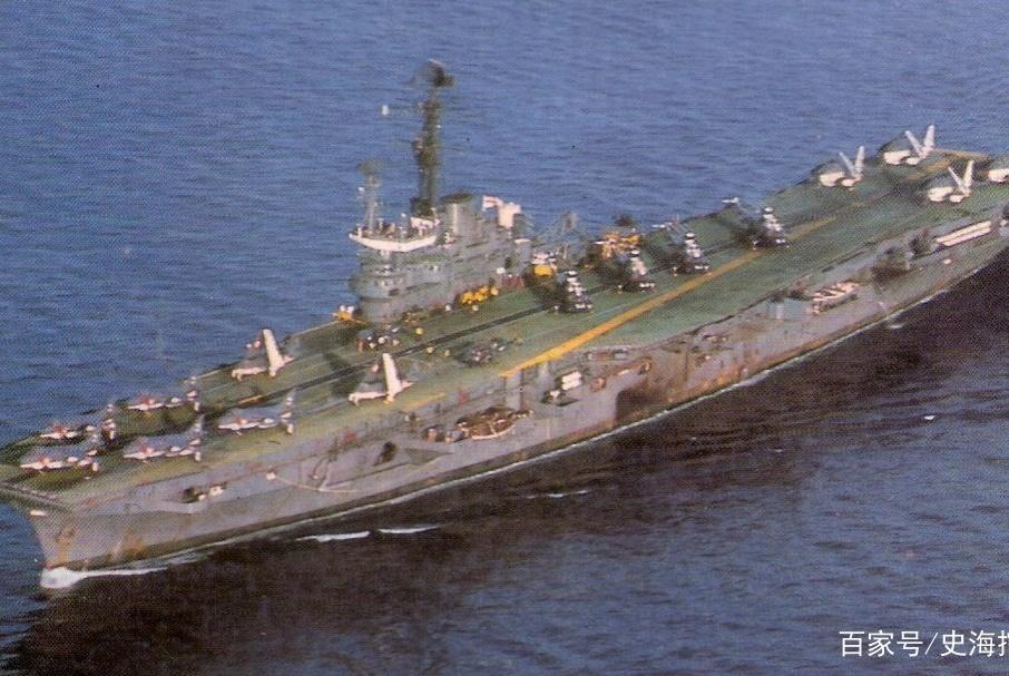 仗着苏联核潜艇撑腰,印度航空母舰逼退美国航母战斗群