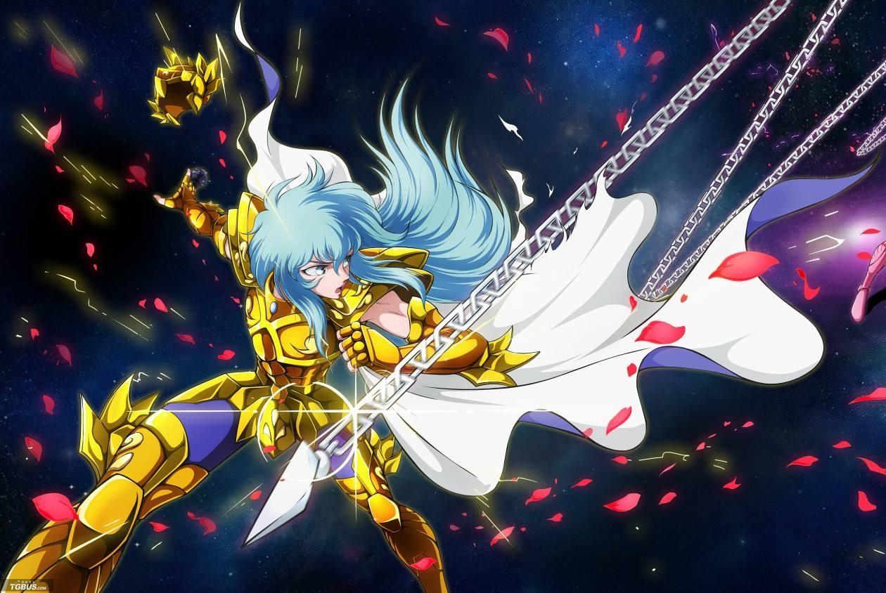 """圣斗士星矢:圣域两个最美圣斗士,一个""""自称"""",一个""""被称""""!"""