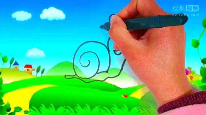 淘趣工坊 02:38 幼儿简笔画之蜗牛 00:49 骑着蜗牛找房子 简笔画视频-