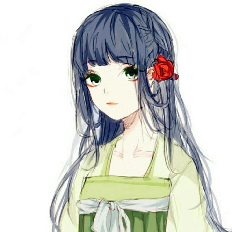 古风动漫手绘小仙女头像,喜欢粉色,就像迷恋夏天旳风!