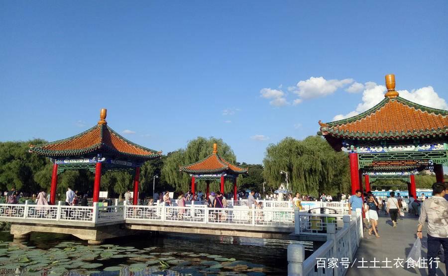 浙江杭州周边附近的南湖风景名胜区,盐官观潮景区旅游
