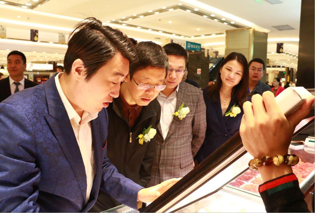 第十四届深圳创意十二月之第三届松岗琥珀创意艺术节开幕式后领导宾客参观